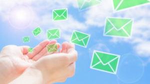 婚活に関するメールの送受信
